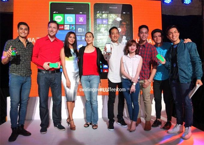 Karel Holub, Lumia 535, Lumia 735