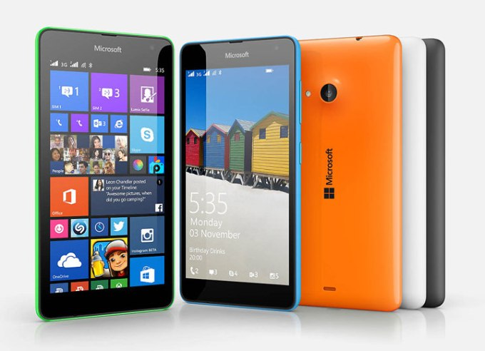 Lumia 535, Nokia, Windows 8.1