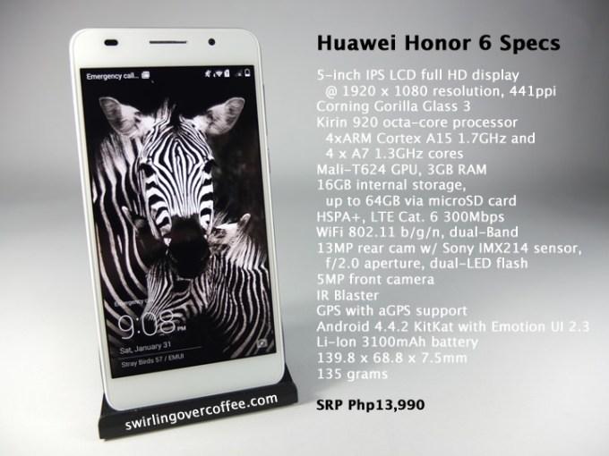 Huawei Honor 6, Huawei Honor 6 Specs, Huawei Honor 6 Price