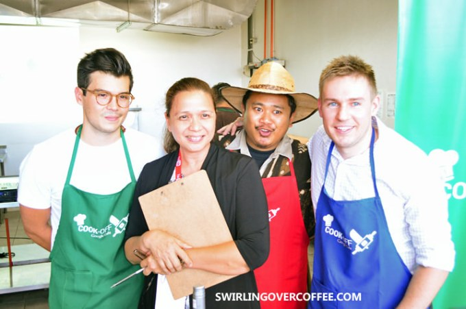 Google Cafe, Google Cook Off, Erwin Heusaff