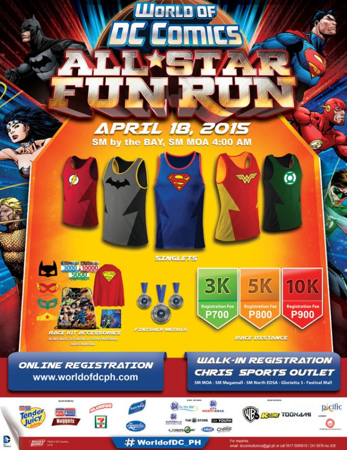 World of DC All-Star Fun Run