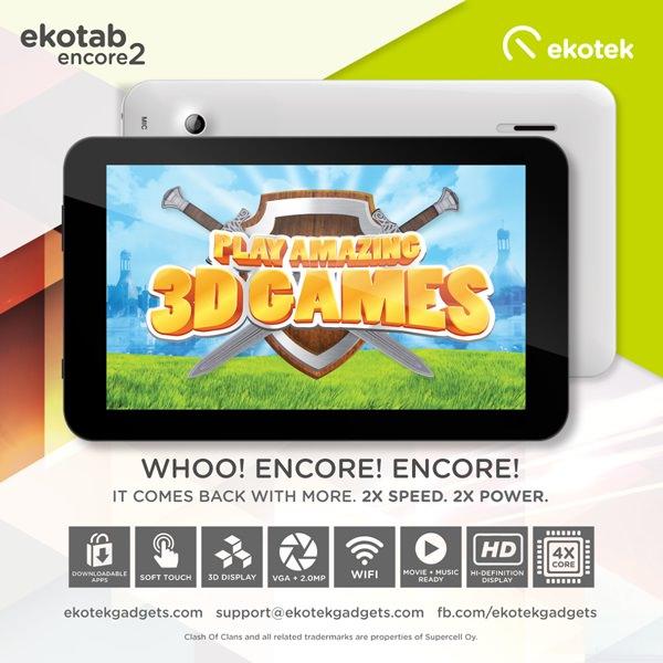 Ekotab Encore 2