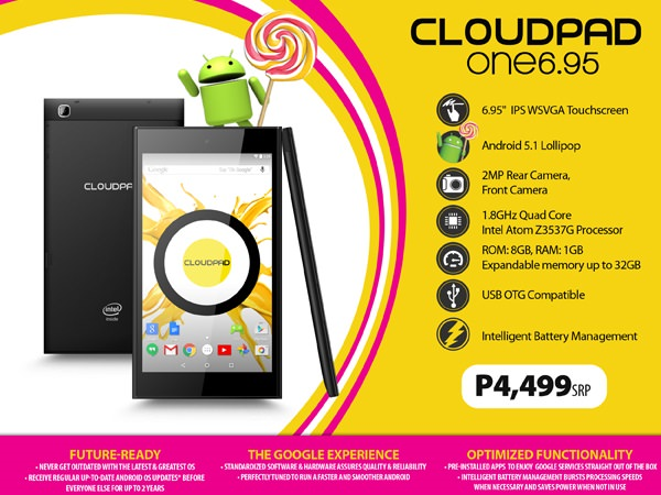 CloudPad One 6