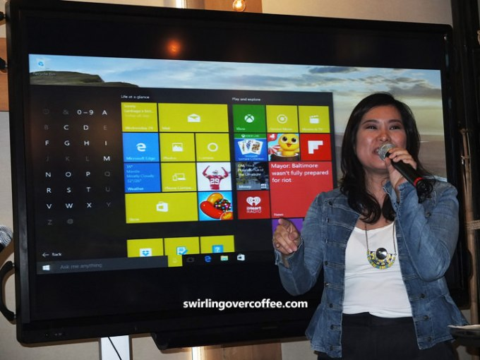 Windows 10, Mae Rivera Moreno