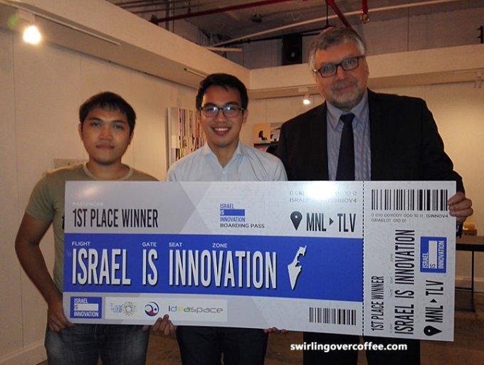 IdeaSpace, Israel is Innovation,  Embassy of Israel