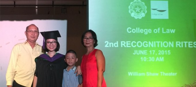 Regine Delos Reyes Graduation Pic with Family header