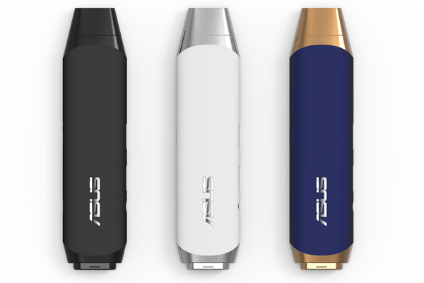 ASUS VivoStick PC 3 colors vertical