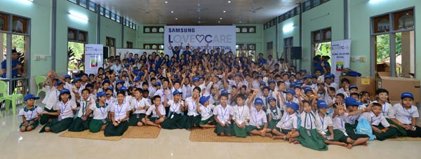 Samsung Love and Care Program 2015