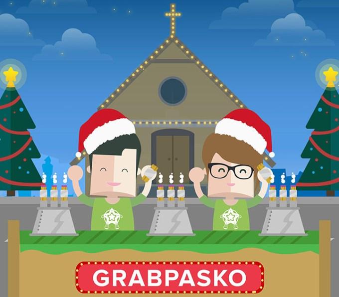 Grab Taxi, Grab Pasko