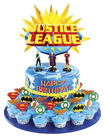Justice league cakes from goldilocks make for super awesome kiddie justice league goldilocks m4hsunfo