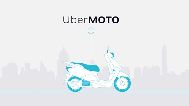 Uber Rolls Out Global First Motorcycle Service Pilot in Thailand