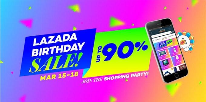Lazada 4th Year Anniversary, Lazada 4-day Sale