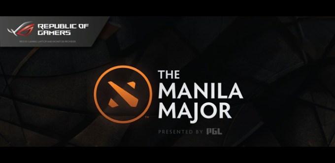 ASUS ROG, Manila Major 2016