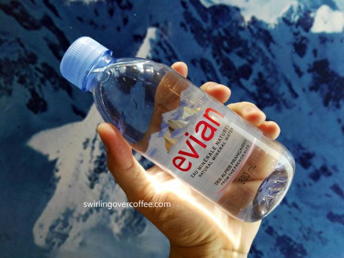 Evian Prestige, Evian Natural Drinking Water