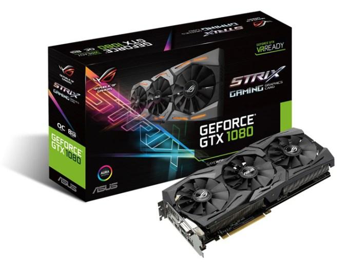 ASUS ROG GT51, ASUS ROG GL502, ASUS ROG Swift PG248Q, ASUS ROG Strix GeForce GTX 1080
