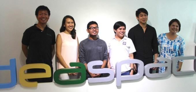 IdeaSpace 2016 finalists
