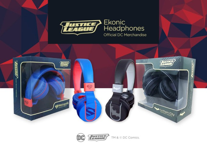 Ekotek Justice League Headphones