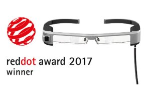 Epson Moverio BT-300 wins Red Dot Award for Design