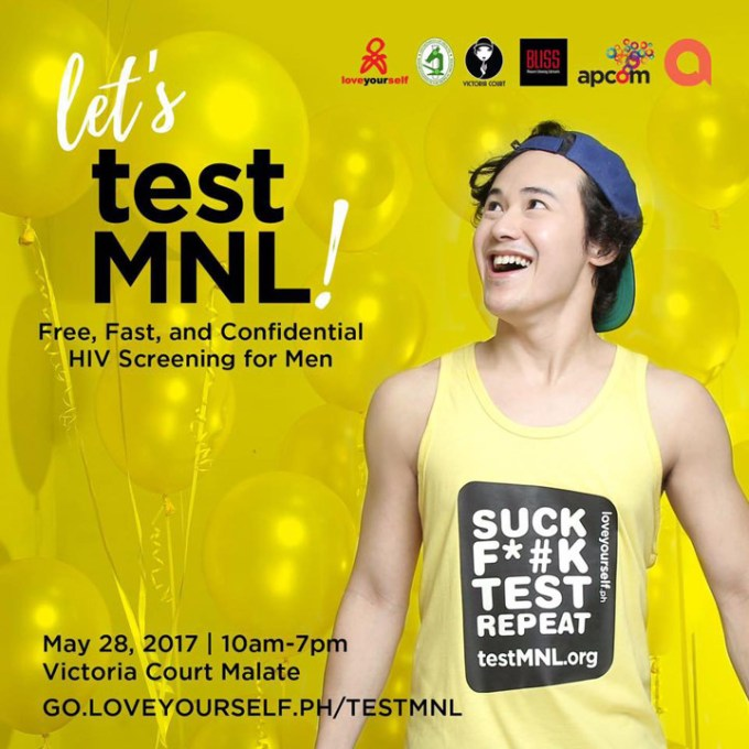 TestMNL, HIV test, LoveYourself Inc