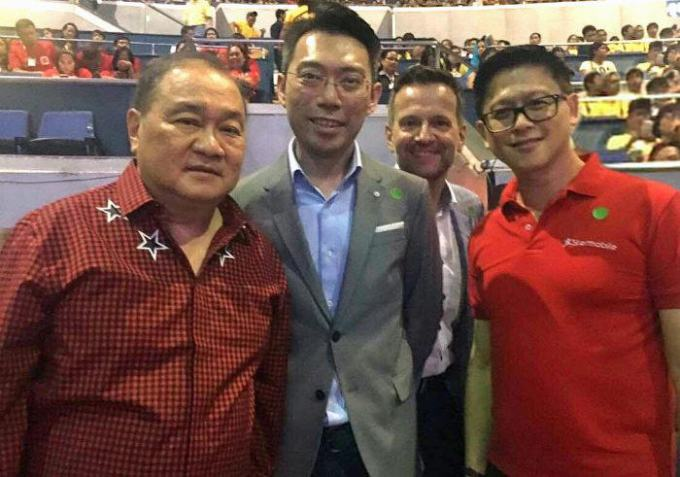 PLDT-Smart Chair and CEO Manuel Pangilinan, Starmobile COO Michael Chen, PLDT-Smart Chief Technology and Information Advisor Joachim Horn, and Starmobile President Ulysses Lao. Starmobile FeatureSmart EVO 1