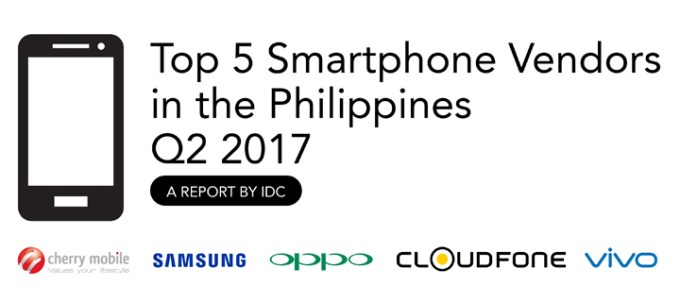 Cloudfone Among Top 5 Smartphone Brands in the Philippines