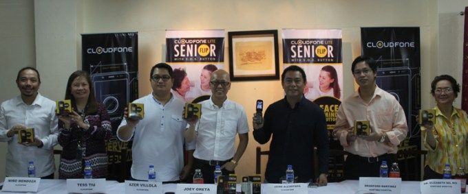 Cloudfone Senior Phone Bar, Cloudfone Senior Phone Flip, Phone for Senior Citizens