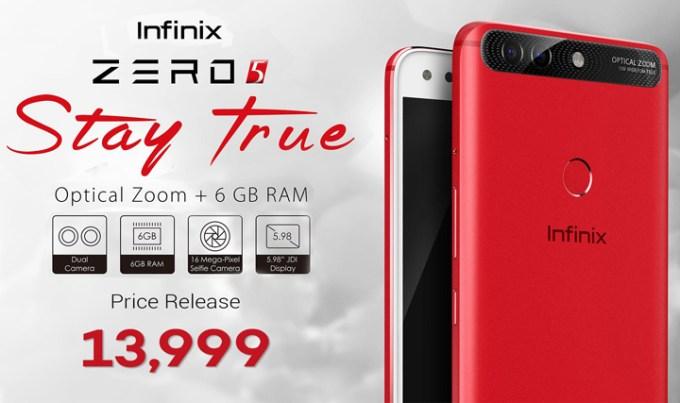 Infinix Zero 5 price, Infinix Zero 5 specs, Infinix Zero 5 Philippines