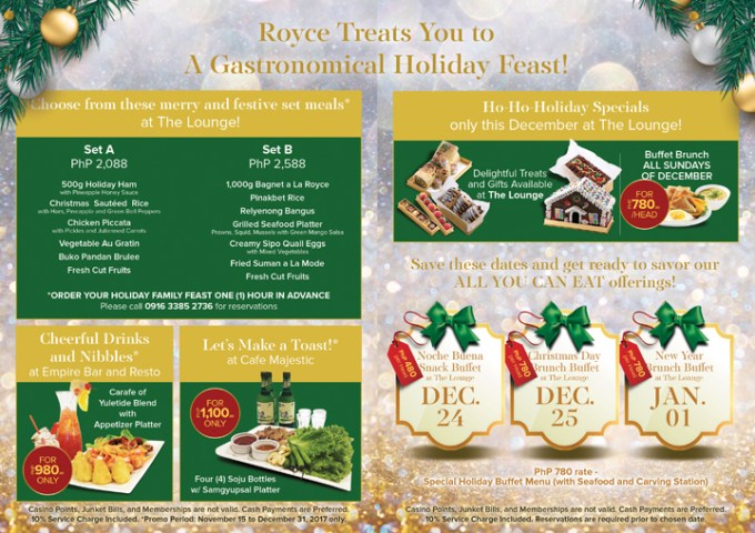 Royce Hotel & Casino Holiday of Surprises