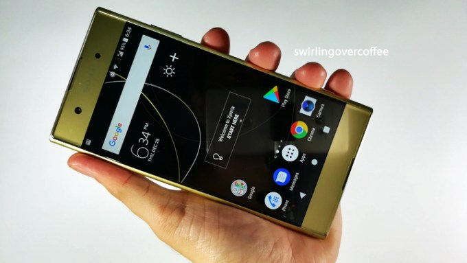 Sony Xperia XA1 Plus review, Sony Xperia XA1 Plus Widget City
