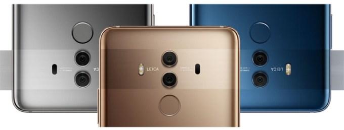 Huawei Mate 10 Pro Leica Cameras