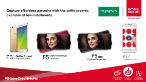 Get your loved one OPPO phones through Home Credit this Valentine's