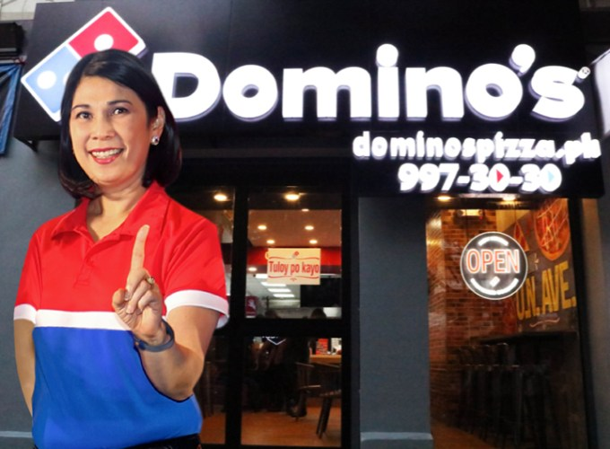 Domino's Pizza may now claim that it is the largest pizza company in the world