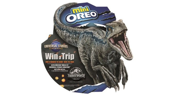 Mini OREO Limited Edition Jurassic World Pack 1