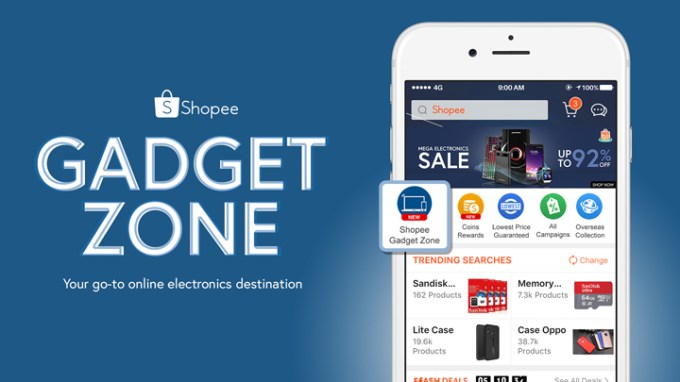 Shopee Gadget Zone is your go-to online gadget destination.