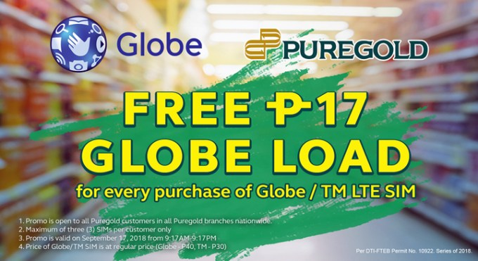 Mark your calendars for 917 Day and join Puregold as they celebrate their 20th anniversary with special promos for Globe users!