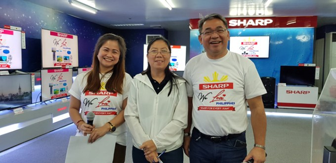 """Sharp announces Luzon winners for """"We Love Philippines"""" campaign"""