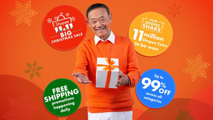 Shopee 11.11 - 12.12 Big Christmas Sale, Jose Mari Chan