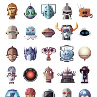Famous Robots, Goodies & Baddies