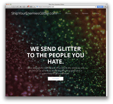 ship your enemy glitter