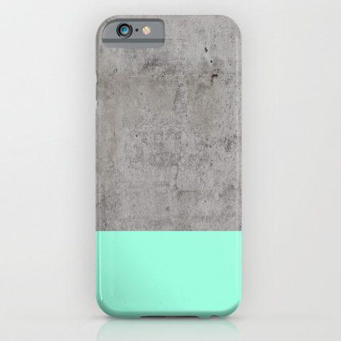 Swissmiss Concrete Iphone Case
