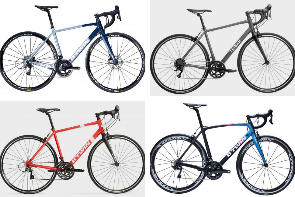 introducing the decathlon road bikes