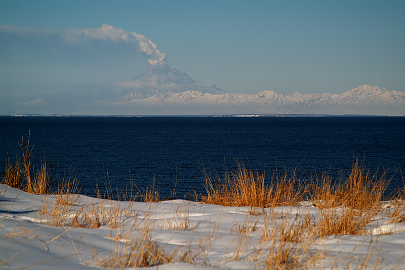 Redoubt from Kenai