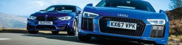Audi R8 RWS vs. BMW M4 CS