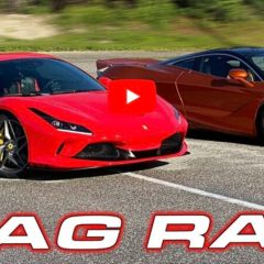 Ferrari F8 Tributo più veloce di una Mclaren 720S?