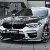 G-Power G5M Hurricane RR, la BMW M5 portata a 888cv