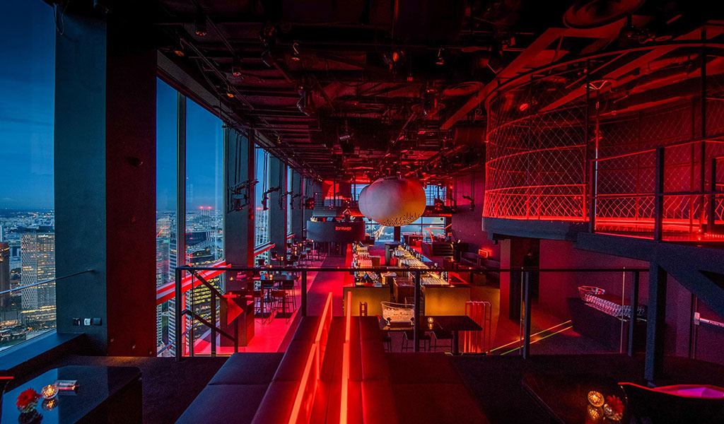 Bar Rouge Singapore Swissotel The Stamford Hotel In