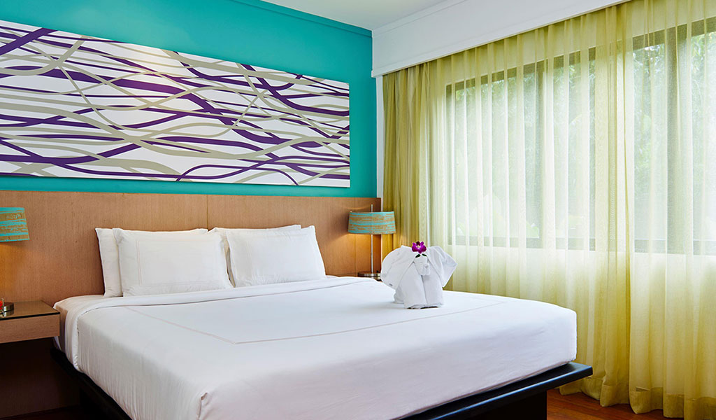 One Bedroom Deluxe Poolside Terrace Suite Swissotel Phuket Swisstel Hotels And Resorts
