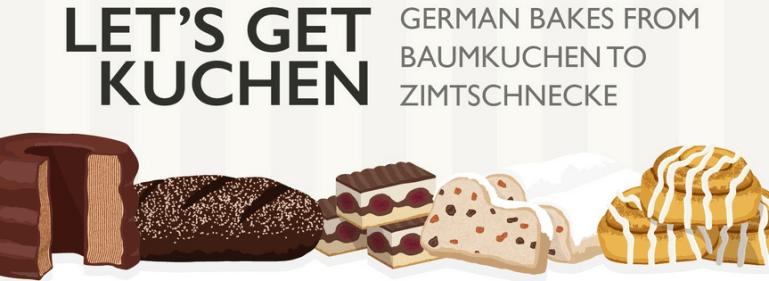 Let's Get Kuchen: German Bakes From Baumkuchen to Zimtschnecke