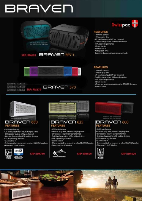 Braven 570 650 625 and 600