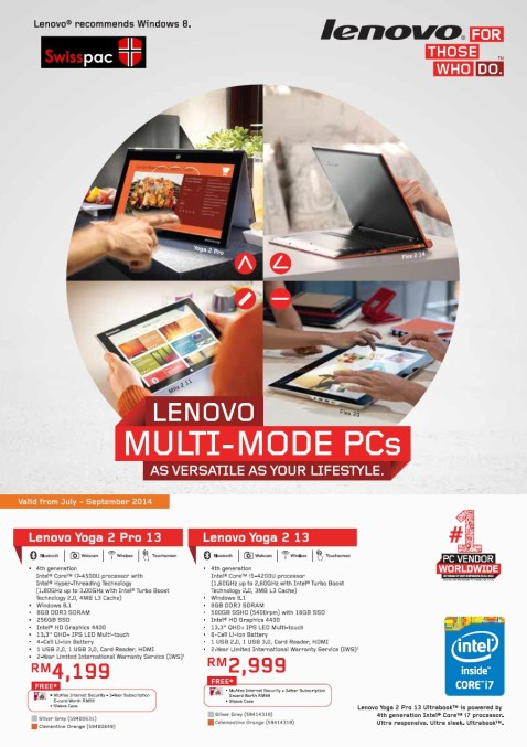 Lenovo Multi mode PC